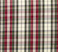 Fabric by the Yard, Denver Plaid Red Plaid Fabric, Fabric Sofa, Fabric Decor, Upholstery Fabrics, Love Chair, Christmas Pillow, New Furniture, Pottery Barn, Decorating Your Home