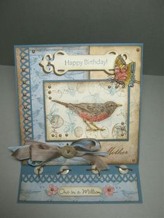 Nature Walk easel card