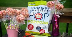 Fun Healthy Spring Snack-Strawberry/Carrot Popcorn Balls from Life Sprinkled With Glitter