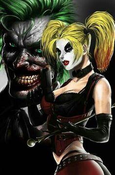"~ <span class=""EmojiInput mj230"" title=""Black Heart Suit""></span>Joker and Harley Quinn<span class=""EmojiInput mj230"" title=""Black Heart Suit""></span> ~"