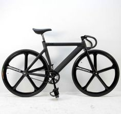 Fixie fixed gear aerospoke