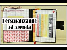 Luisa PaperCrafts: Personaliza tu agenda para este regreso a clases