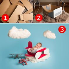 If you're interested in making your own airplane basket here's what you'll need: Vancouver maternity newborn photography Glue Cardboard Felt fabrics Tape Exacto knife Vancouver maternity newborn photography you first need to make a small box out of the cardboard (or use a ready made cardboard box). This box should be a few inches bigger …