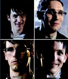 Friendship goals getting to say your friends name! Riddler Gotham, Gotham Tv, Edward Nygma Gotham, Penguin And Riddler, Superhero Tv Shows, Cory Michael Smith, Victor Zsasz, Dc Tv Shows, Marvel Movies