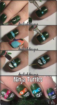 Ninja Nail Polish Lacquer Floam Holographic metallic effect and irridescent nail polish @Santos Sousa #ninjanails #floam