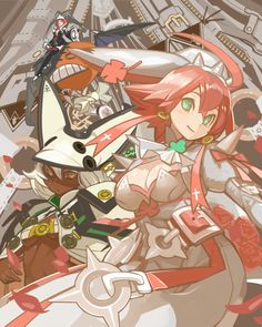 Guilty Gear, Valentines Art, Fighting Games, Cool Girl, Gears, Anime Art, Illustration Art, Pixiv, Drawings