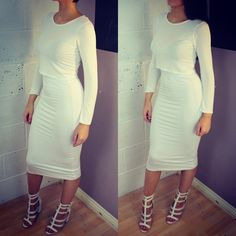 Kim Kardashian - White Cropped Top & High-Waisted Maxi Skirt | Kim ...
