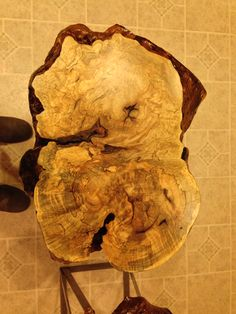 End tables spalted hard maple