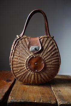 Atelier Solarshop [vintage rattan hand bag]