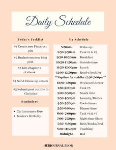 Productivity Tips for Moms: Time Management Techniques with a Toddler - - - Productivity tips for moms are crucial to learn when being a WAHM or SAHM. Find ways to incorporate time management opportunities into your daily routine. Time Management Techniques, Time Management Strategies, Effective Time Management, Good Time Management, Stress Management, Daily Routine Schedule, Daily Schedules, Routine Planner, Productivity Hacks