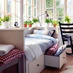 petite chambre plantes vertes