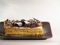 Las recetas de Yas: Milhoja de Turrón, Feliz Navidad. Cupcake Cakes, Cupcakes, Beautiful Cakes, Nutella, Mousse, Fondant, Waffles, Food And Drink, Cooking Recipes
