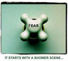 When creating you mustn't think you can ever get rid of fear; what is important is managing it, and using it.