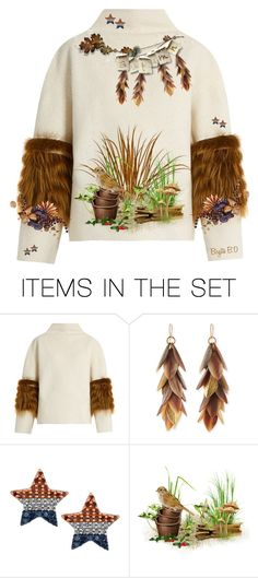 """Decorate a Sweater for Fall"" by birgitte-b-d ❤ liked on Polyvore featuring art"