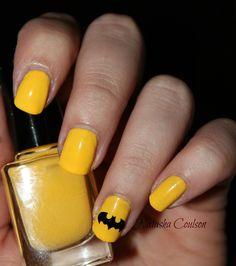 Fandom Cosmetics - Batman Nail Decal (10 Count), $3.50 (http://www.fandomcosmetics.com/batman-nail-decal-10-count/)