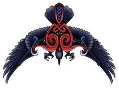 Crow celtic tatoo by Nidzo.deviantart.com on @deviantART