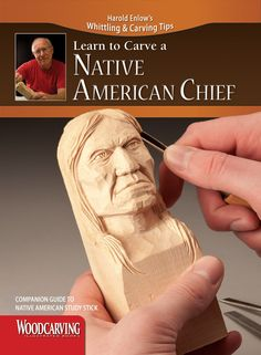 Learn to Carve a Native American Chief (Booklet)