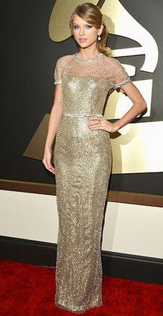 Obsessing over Taylor Swift's Gucci Premiere dress, Lorraine Schwartz jewelry, and Jimmy Choo Mariah platform heels