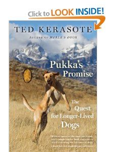 Pukka's Promise: The Quest for Longer-Lived Dogs: Ted Kerasote: 9780544102538: Amazon.com: Books