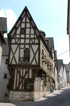 Maison a colombage, Chartres ®Office de Tourisme de Chartres #VoyagesPassionTerre
