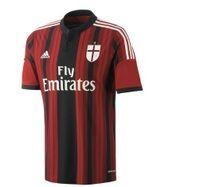 SportsUltima | Rakuten.co.uk Shopping: AC Milan Home Shirt 2014/15-Mens  AC Milan Home Shirt 2014/15-Mens: ACMilanhomemens from SportsUltima | Rakuten.co.uk Shopping