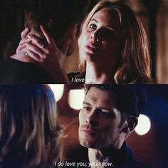 "#TheOriginals 3x19 ""No More Heartbreaks"" - Cami and Klaus"