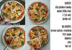 Celozrnná pizza + Donuty