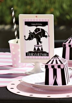 girly-circus-birthday-party