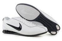 finest selection f880c 4b2a1 chaussures nike shox r3 broderie homme (blanc noir) pas cher en ligne.