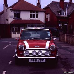 """Lucia Svecova: """"I consider the Mini Cooper car a British iconic car, therefore I see it as its heritage."""""""