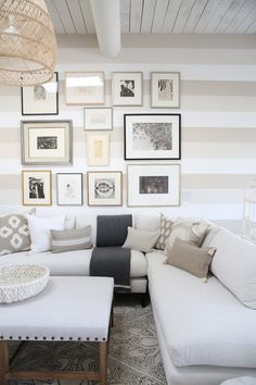 Neutral living room ideas | Image via Jennifer Lavelle at Serena & Lily's Summit Design Shop