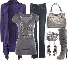 """""""I love a good cardigan!"""" by chelseawate on Polyvore"""