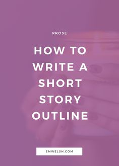 Writing a short story can often be intimidating, even if you've finished a novel recently or some other grand project. Despite it's brevity, a short story is much looser in its structure and up for a lot of interpretation. Because of this, if you're struggling with short fiction, it becomes difficul