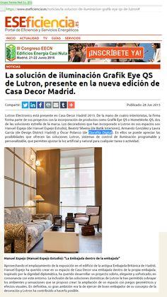 prensa clorofila clorofila digital solucion iluminacion noticias sitio web eye qs lutron https www