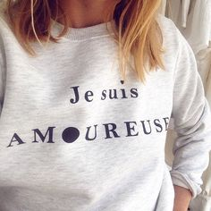 Ah ce sweat <3 Flolove Paris