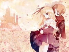 Anime Couples My Love HD Wallpaper