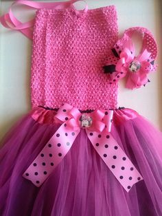 Tutu with matching bow