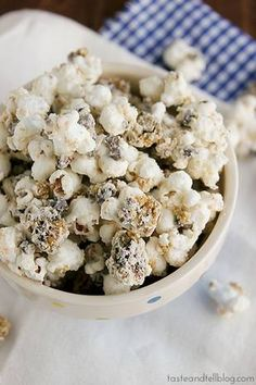 Chocolate Chip Cookie Popcorn? Yes, please!