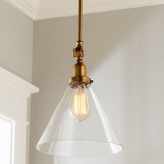 Industrial Triangle Shade Pendant - Shades of Light