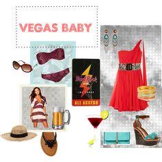 Vegas Baby, created by baeyensgirl on Polyvore
