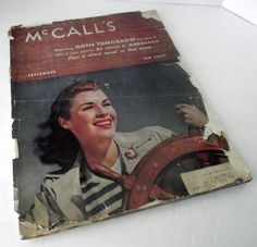 1940 McCall's Magazine - check out all of my vintage fashion magazines today - #BienleinDesignFinds