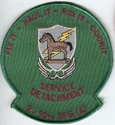 10th Special Forces Group Pocket Patches Service Detachment, 2nd Battalion