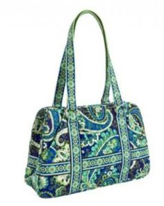 This weekend, all colors of Vera Bradley's Squared Away Handbag for $39.99 (Was 68).