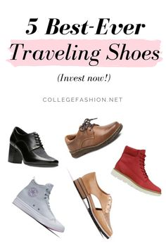 dbc17eaad96 5 Best Pairs of Shoes for Travel