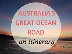 Find out the best places to go in this Great Ocean Road itinerary driving from Melbourne in 7 days - Australia& most captivating drive. Places To Travel, Places To Go, Malaga Airport, Australia Travel, Australia 2017, Melbourne Australia, Travel Vlog, Work Travel, Day Trip