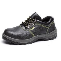 Sale 10% (28.99$) - New Men Low Top Protective Safety Mountaineering Solid Abrasion Resistance Sport Military Shoes
