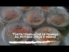 Como fazer torta salgada de frango no pote # Fátima Paulista - YouTube