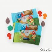 Gummy treats. $8.00 for 25 bags. Oriental Trading.