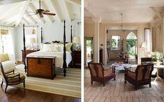 Estilo Colonial Rattan, Estilo Colonial, Relax, Oversized Mirror, Room, Furniture, Home Decor, Style, Rustic Style