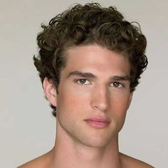 10.Short Curly Hairstyle for Men